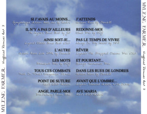 Mylène Farmer - Unofficial Remixes Part. 3 (Back)