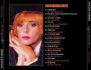 Mylène Farmer - Unofficial Remixes Part. 5 (Back)