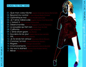 Mylène Farmer - Unofficial Remixes Part. 7 (Back)