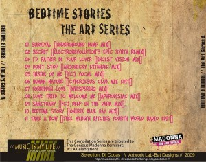 Bedtime Stories - The Art Series by Lab-Bat Designs a