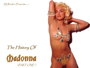 Dj Runken - The History Of Madonna (Megamix) (Part One) Front