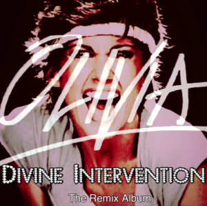 Olivia Newton-John  Divine Intervention  The Remix Album Front Cover