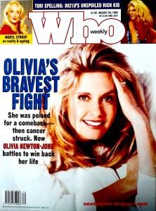 Olivia Newton-John's cancer fight who magazine