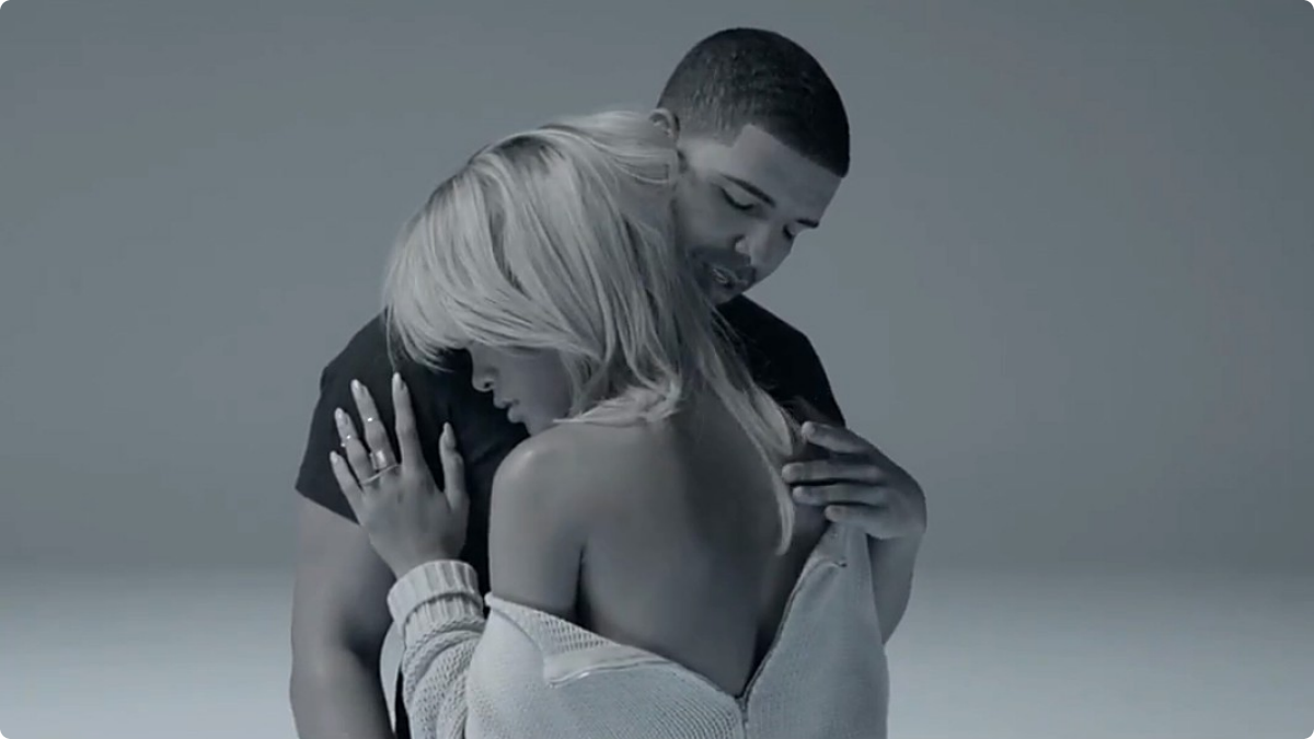 "Drake x rihanna x jamie xx ""take care"" pretty much amazing."