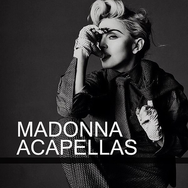 MADONNA Goes Acapella - Enjoy The 55 Jewels Unexpected Collection